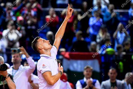 Editorial image of Davis Cup - Hungary vs Belgium, Debrecen - 07 Mar 2020