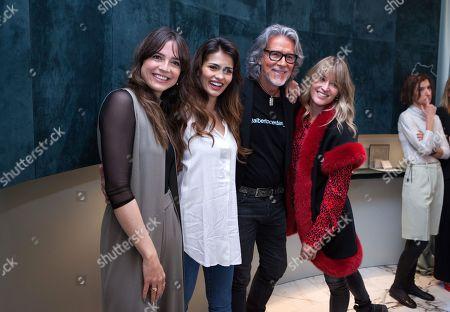 Cristina Alarcon, Sara Salamo, Alberto Cerdan, Marta Larralde