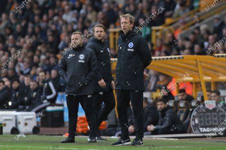 Editorial photo of Wolverhampton Wanderers vs Brighton & Hove Albion, Premier League, Football, Molineux, Wolverhampton, West Midlands, United Kingdom - 07 Mar 2020