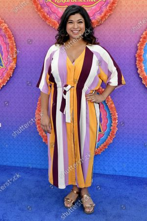 Editorial image of 'Mira, Royal Detective' TV show premiere, Arrivals, Los Angeles, USA - 07 Mar 2020