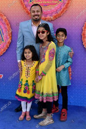 Rizwan Manji and family