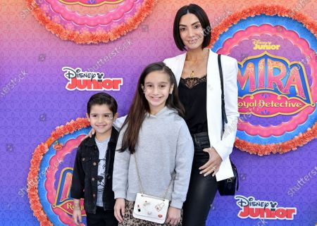 Stock Picture of Dominic Lopez, Gia Francesca Lopez and Courtney Mazza