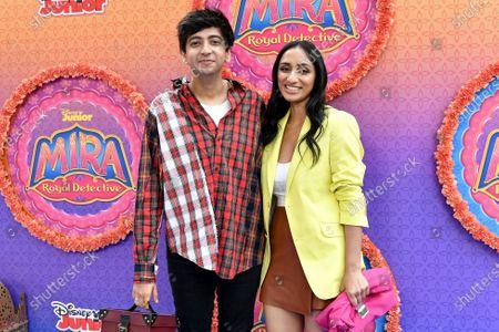Nik Dodani and Kiran Deol