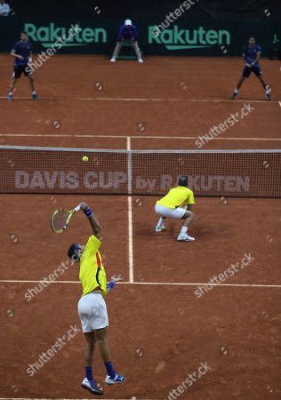 Editorial photo of Argentina Tennis Davis Cup, Bogota, Colombia - 07 Mar 2020