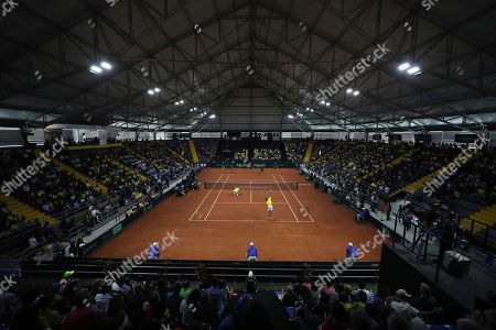 Editorial picture of Argentina Tennis Davis Cup, Bogota, Colombia - 07 Mar 2020
