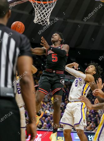 Editorial photo of NCAA Men's Basketball Georgia vs LSU, Baton Rouge, USA - 07 Mar 2020