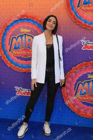 "Courtney Mazza attends the LA Premiere of ""Mira, Royal Detective"" at Disney Studios, in Burbank, Calif"
