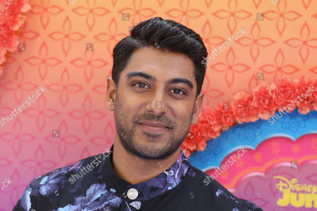 "Stock Image of Ritesh Rajan attends the LA Premiere of ""Mira, Royal Detective"" at Disney Studios, in Burbank, Calif"