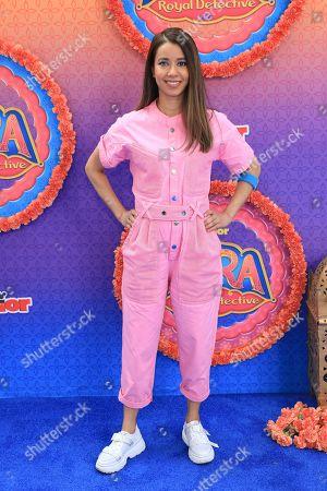 "Sujata Day attends the LA Premiere of ""Mira, Royal Detective"" at Disney Studios, in Burbank, Calif"