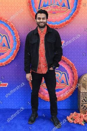 "Asif Ali attends the LA Premiere of ""Mira, Royal Detective"" at Disney Studios, in Burbank, Calif"