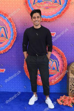 """Karan Brar attends the LA Premiere of """"Mira, Royal Detective"""" at Disney Studios, in Burbank, Calif"""