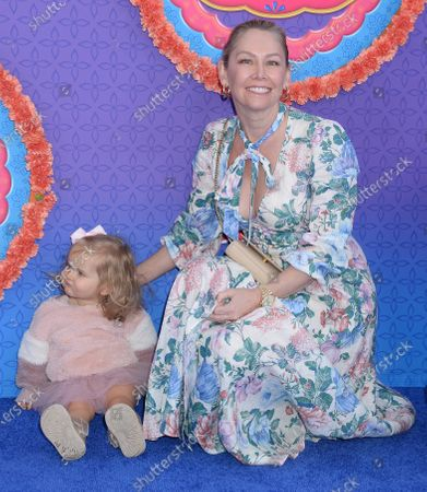 Kym Johnson and daughter Haven