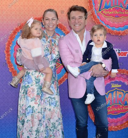 Kym Johnson, husband Robert Herjavec kids Haven and Hudson