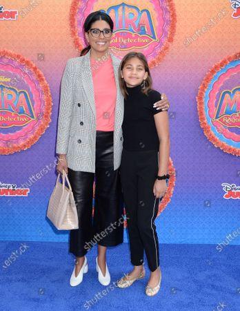 Rachel Roy and daughter