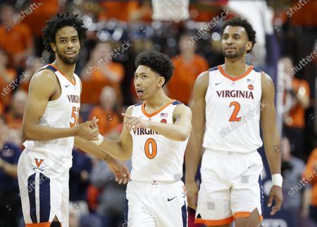 Editorial picture of NCAA Basketball Louisville vs UVA, Charlottesville, USA - 07 Mar 2020