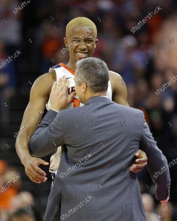 Editorial image of NCAA Basketball Louisville vs UVA, Charlottesville, USA - 07 Mar 2020