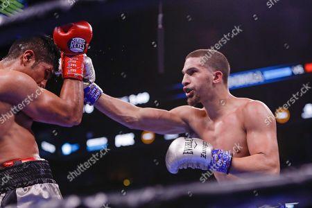 Editorial photo of Ochoa Sarinana Boxing, New York, USA - 07 Mar 2020