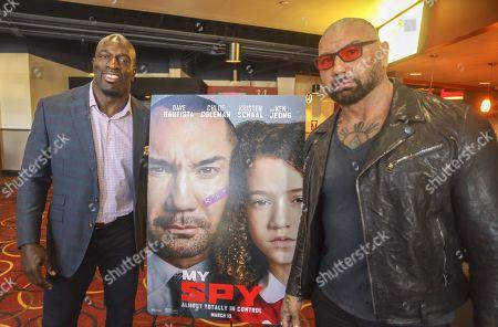 Editorial image of 'My Spy' film screening, AMC Veterans 24, Florida, USA - 06 Mar 2020