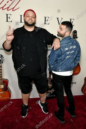 Stock Picture of Daniel Franzese and Azariah Southworth