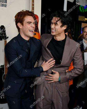 KJ Apa and Charles Melton