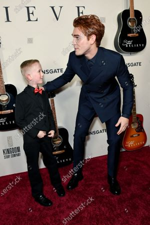 KJ Apa and Egan Thomas Camp