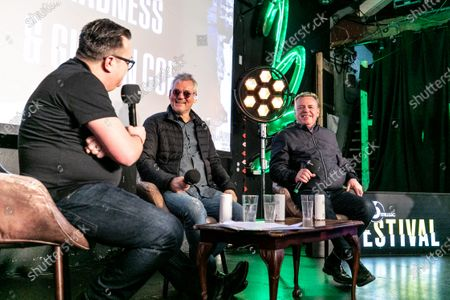Stock Image of Gideon Coe, Mike Barson and Suggs