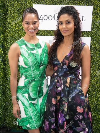 Misty Copeland and Manuela Testolini attends 'A World Of Good' presented by In A Perfect World at the Four Season in Beverly Hills