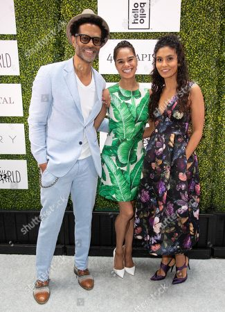 Eric Benet, Misty Copeland and Manuela Testolini attends 'A World Of Good' presented by In A Perfect World at the Four Season in Beverly Hills