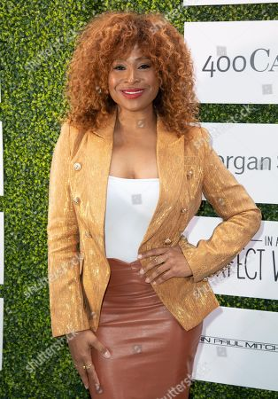 Tanika Ray attends 'A World Of Good' presented by In A Perfect World at the Four Season in Beverly Hills
