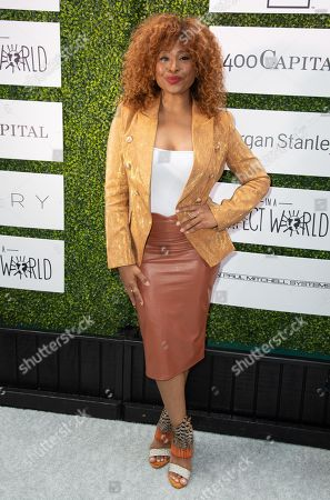 Stock Image of Tanika Ray attends 'A World Of Good' presented by In A Perfect World at the Four Season in Beverly Hills
