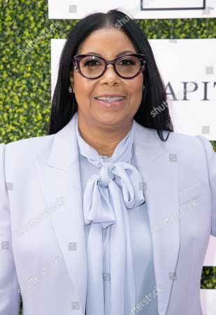 Cookie Johnson attends 'A World Of Good' presented by In A Perfect World at the Four Season in Beverly Hills