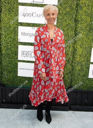 Stock Photo of Deborah Santana attends 'A World Of Good' presented by In A Perfect World at the Four Season in Beverly Hills