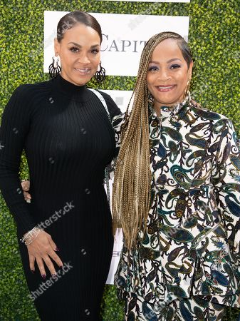 Stock Image of Sheree Zampino and Simone Smith attends 'A World Of Good' presented by In A Perfect World at the Four Season in Beverly Hills
