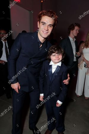 Stock Photo of KJ Apa, Reuben Dodd