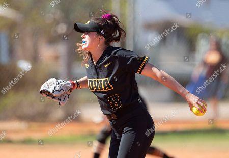 Editorial picture of Central Michigan Iowa Softball, Madeira Beach, USA - 07 Mar 2020