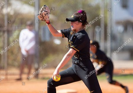 Editorial image of Central Michigan Iowa Softball, Madeira Beach, USA - 07 Mar 2020