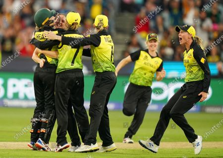 Editorial picture of Cricket Womens T20 World Cup final - Australia vs India, Melbourne - 08 Mar 2020