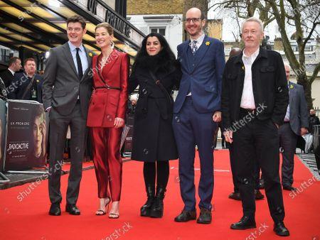 Editorial photo of 'Radioactive' film premiere, London, UK - 08 Mar 2020