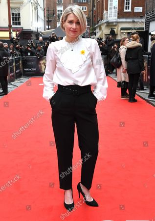 Editorial image of 'Radioactive' film premiere, London, UK - 08 Mar 2020