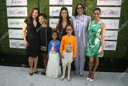 Stock Picture of Manuela Testolin, Cookie Johnson, Misty Copeland, LaTanya Richardson,