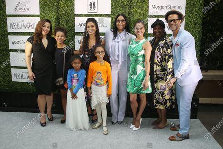 Manuela Testolin, Cookie Johnson, Misty Copeland, LaTanya Richardson, Eric BenZtEric BenZtJackson,