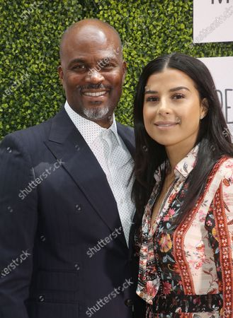 Stock Picture of Chris Spencer, Vanessa Rodriguez Spencer