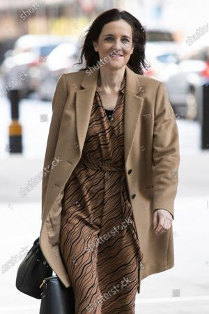 Editorial picture of Theresa Villiers out and about, London, UK - 08 Mar 2020
