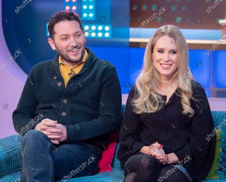 Jon Richardson and Lucy Beaumont