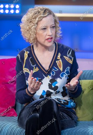 Stock Image of Cathy Newman