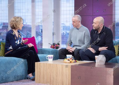 Cathy Newman, Tim Lovejoy and Simon Rimmer