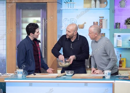 Jack Rowan, Tim Lovejoy and Simon Rimmer