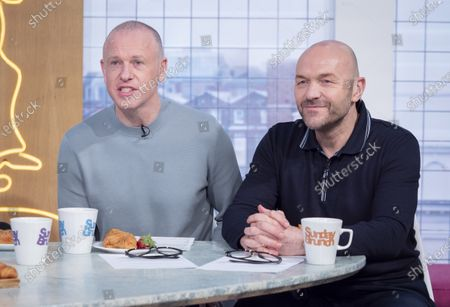 Stock Image of Tim Lovejoy and Simon Rimmer