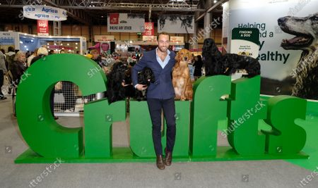 Stock Picture of James Middleton at day 4 of Crufts 2020 held at the NEC Birmingham.