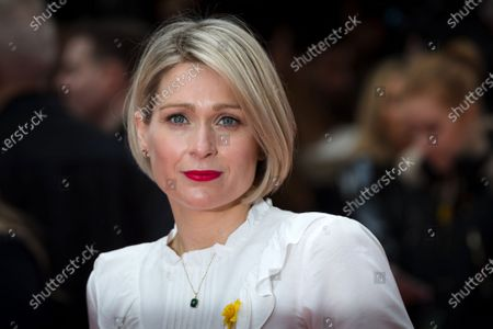 Sian Brooke attends the UK premiere of 'Radioactive' at Curzon Mayfair in London, Britain, 08 March 2020, on International Women's Day. The movie celebrates the pioneering work of the Polish scientist Marie Curie and will be released in British cinemas on 20 March 2020.